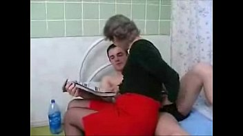 67 Yr Old Granny Riding a 22 Yr Old Grandson