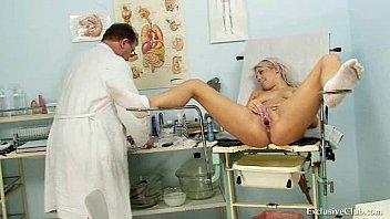 Nervous Teen Lainey Gets New Student Physical & Gyno By Doctor Tampa Nurse Rose At GirlsGoneGynoCom