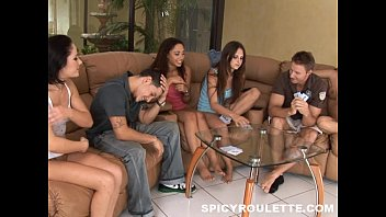 COLLEGE RULES - Teen College Students Playing Strip Poker With Their Peers
